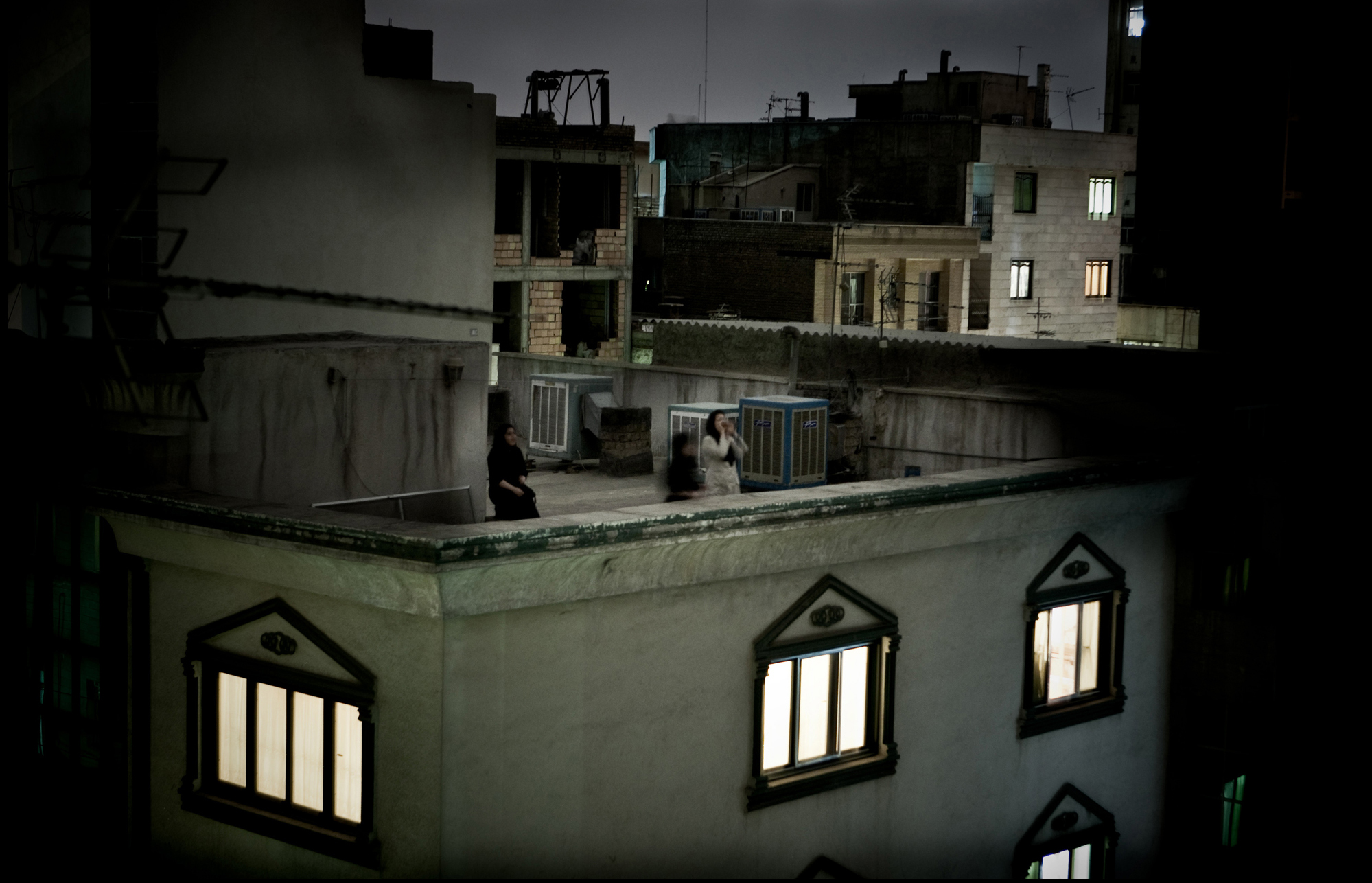 World Press Photo of the Year 2009  Pietro Masturzo, Italy  From the rooftops of Tehran, June